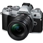 Olympus OM-D E-M5 Mark III Mirrorless Digital Camera with 12-45mm Lens (Silver)