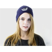 Rubber Monkey Beanie - Blue