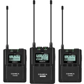 Comica Audio CVM-WM200A Two-Person Wireless Omnidirectional Lavalier Microphone System