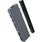 Hyper HyperDrive DUO 7-in-2 USB-C Hub for MacBook Pro/Air (Grey)