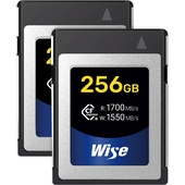 Wise Advanced 256GB CFX-B Series CFexpress Memory Card (2-Pack)