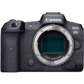 Canon EOS R5 Mirrorless Digital Camera with EF Adapter