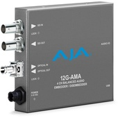 AJA 12G-AMA Analog Audio Embedder/Disembedder (4 Channel)