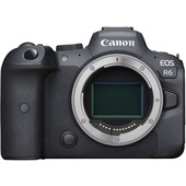 Canon EOS R6 Mirrorless Digital Camera with EF Adapter