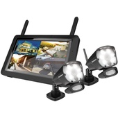 Uniden G3720 Full HD Digital Wireless Surveillance System with 2 Weatherproof Cameras - Open Box