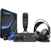 PreSonus AudioBox 96 Studio Complete Hardware/Software Recording Bundle (25th Anniversary Black)