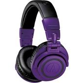 Audio-Technica ATH-M50x BT Wireless Over-Ear Headphones (Purple & Black)