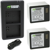 Wasabi Power Battery (2 Pack) for Arlo Pro, Arlo Pro 2 and Dual Battery Charger Station