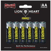 Rotolight Rechargeable NiMH AA Batteries (6-Pack, 2700mAh)