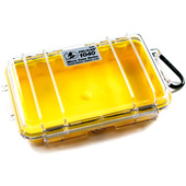Pelican 1040 Micro Case (Yellow/Clear)