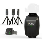 Move 'N See PIXIO Motion Tracking Robot And Sony HDR-CX405 HD Handycam Bundle