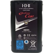 IDX System Technology CUE-D300 286Wh High-Capacity/Load Li-Ion Battery (V-Mount)