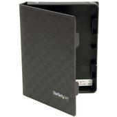 StarTech 2.5in Anti-Static Hard Drive Protector Case (Black, 3pk)