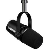 Shure MV7 Podcasting Microphone (Black)