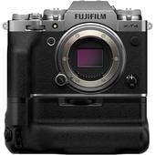 Fujifilm X-T4 Mirrorless Digital Camera (Body Only, Silver) + VG-XT4 Vertical Battery Grip