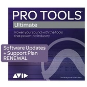 Avid Pro Tools Ultimate 1 Year Software Update And Support Plan Renewal