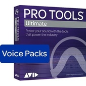 Avid Pro Tools Ultimate - 128 Voice Pack Perpetual License  (Annual Subscription Paid Up Front)