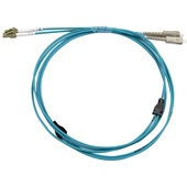 DYNAMIX Multimode LC/LC OM3 Duplex Armoured Fibre Patch Lead (5m)