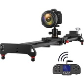 GVM Wireless Carbon Fibre Motorised Camera Slider (1.19m) with Bluetooth Remote - Open Box Special