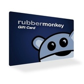 Rubber Monkey Gift Card - 500