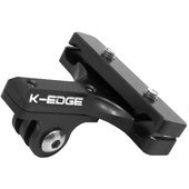 K-Edge Go Big GoPro Pro Saddle Rail Mount (Black)