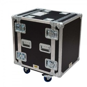Roadcase 12RU Floating Rack Case