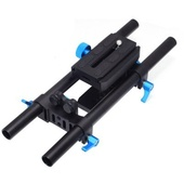 FOTGA DP500 baseplate and rod system with quick release