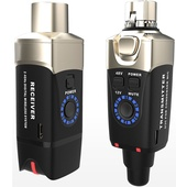 Xvive Audio U3C Set Wireless Plug-On System for Condenser Microphones (2.4 GHz)