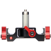 "Zacuto 1/4 20"" Lens Support w/ 2"" center rod"