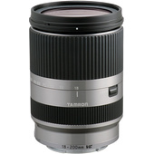 Tamron 18-200mm f/3.5-6.3 Di III VC Lens for Sony E-Mount Cameras (Silver)