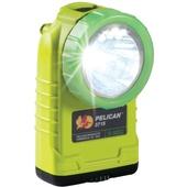 Pelican 3715PL Right Angle LED Flashlight with Photoluminescent Shroud (Yellow)