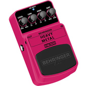 Behringer HM300 Heavy Metal Distortion Effect Pedal