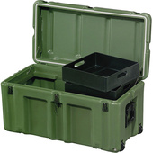 Pelican Hardigg FT3317 Footlocker - For Movable Storage (Olive Drab Green)