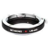 Metabones Leica M Lens to Micro Four Thirds Lens Mount Adapter (Black)