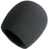 Shure A58WS-BLK  Foam Black Windscreen for Ball Type Microphones