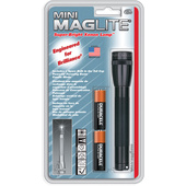 Maglite Mini Maglite 2-Cell AA Flashlight (Black)