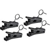 Sony SADHV1B2 UWP Lavalier Mic Clips (4 Pack)