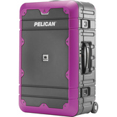 Pelican BA22 Elite Carry-On Luggage (Grey with Purple)