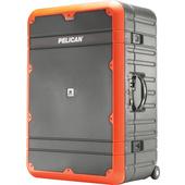 "Pelican 30"" Elite Vacationer Luggage (Grey and Orange)"