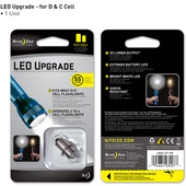 Nite Ize White LED Module Upgrade for C & D Maglite Flashlights