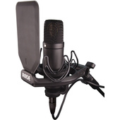 Rode NT1 Kit Large Diaphragm Condenser Microphone (Black)