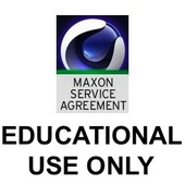 MAXON Service Agreement - Classroom - 24 Months (Download)