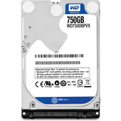 "Western Digital 750GB Blue 2.5"" SATA Internal Hard Drive"