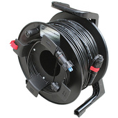 Tactical Fiber Systems Fibre Cable on Reel with BullsEye Connectors (250 ft)