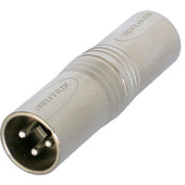 Neutrik NA3MM XLR Male to XLR Male Adapter