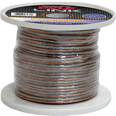 Pyle Pro PSC16100 16-Gauge High-Quality Speaker Zip Wire (30m Spool)