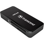 Transcend Compact Card Reader P5 (Black)