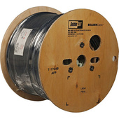 Belden 1192A Multi-Conductor - Four-Conductor Star Quad, Low-Impedance Cable 500' (Black)