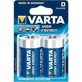 Varta Alkaline High Energy D size - (2 Pack)