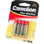 Camelion Alkaline AAA Batteries - (4 Pack)